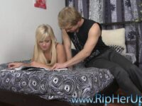 Guy Bangs Blonde Carrie Beasley