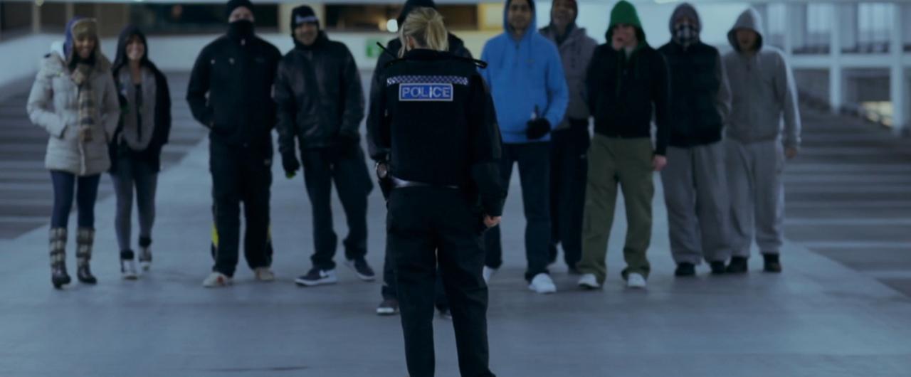 British Cop Violently Raped By Hooligans